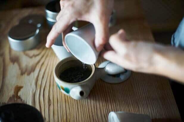 日本茶 湯冷まし