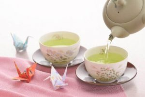 日本茶 鶴